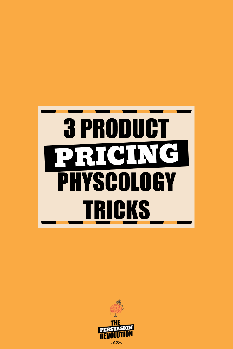 3 Product Pricing Psychology Tricks