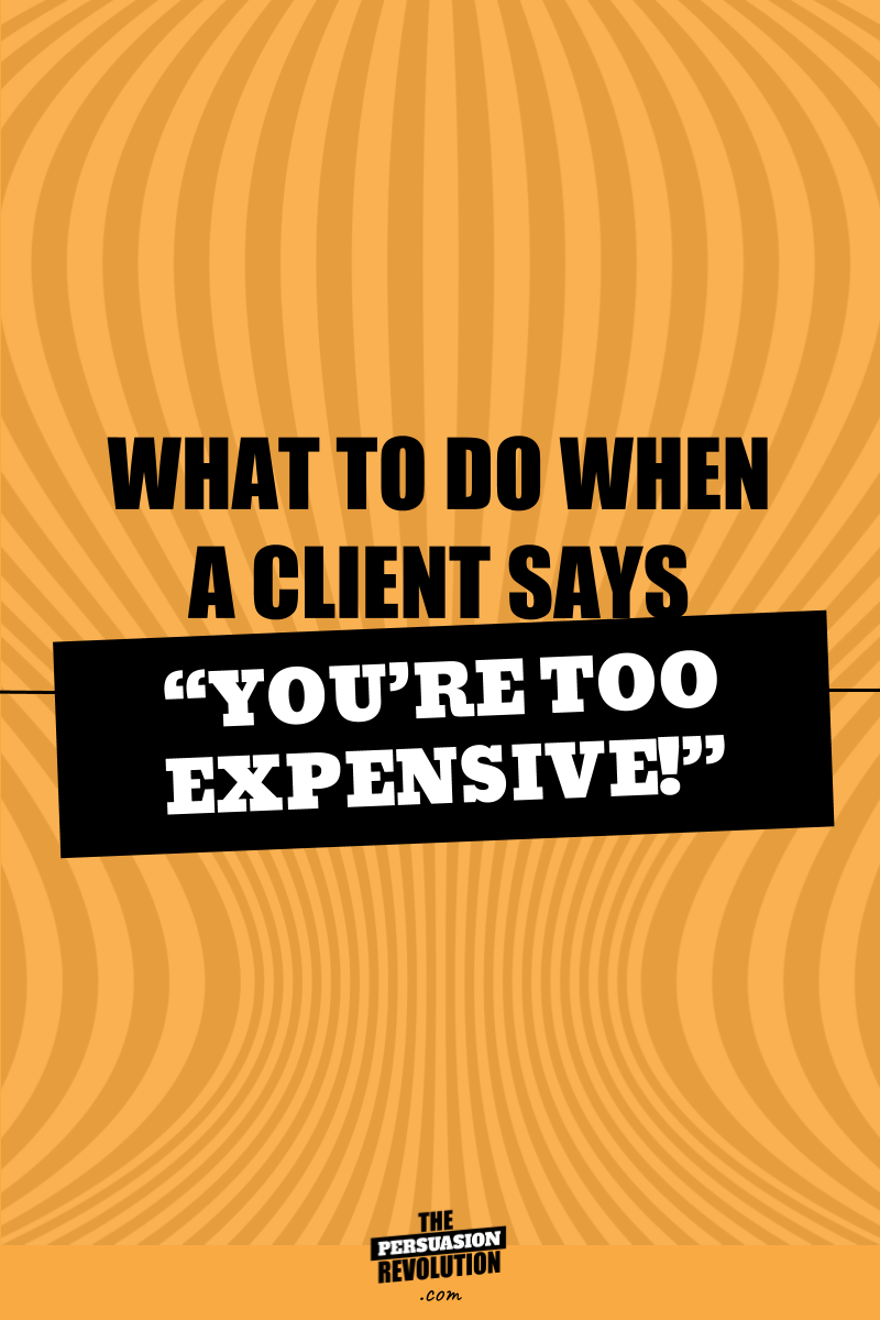 "How to respond when a client says ""You're too expensive!"" #clients #coachingtbiz #onlinebiz #businesstips #biztips #entrepreneurship #entrepreneurtips"