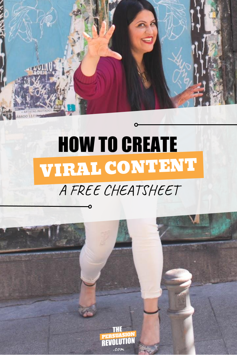 How to Create Viral Content: FREE cheatsheet