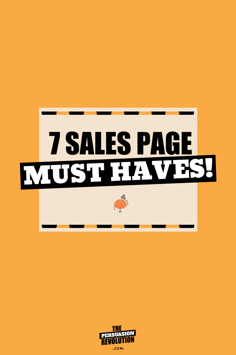 7 Sales Page Psychological Hooks