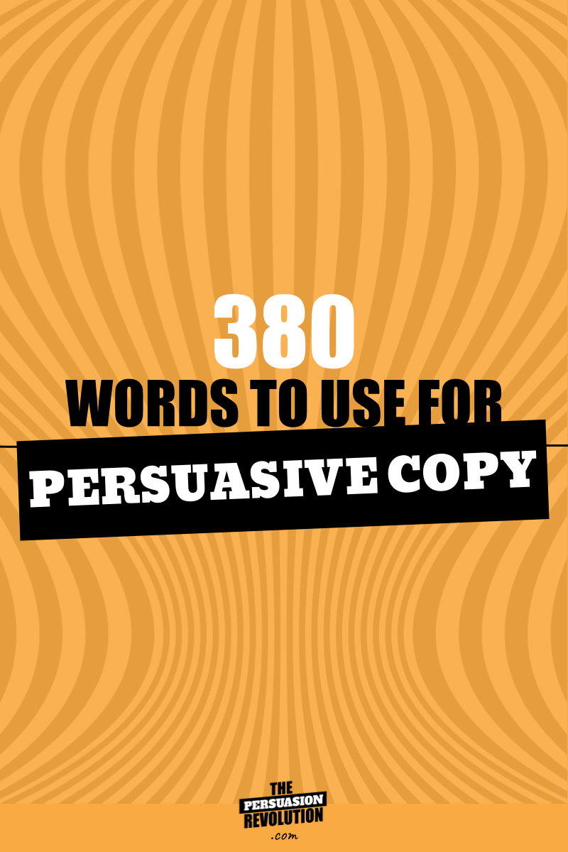 380 High emotion words guranteed to make you more persuasive