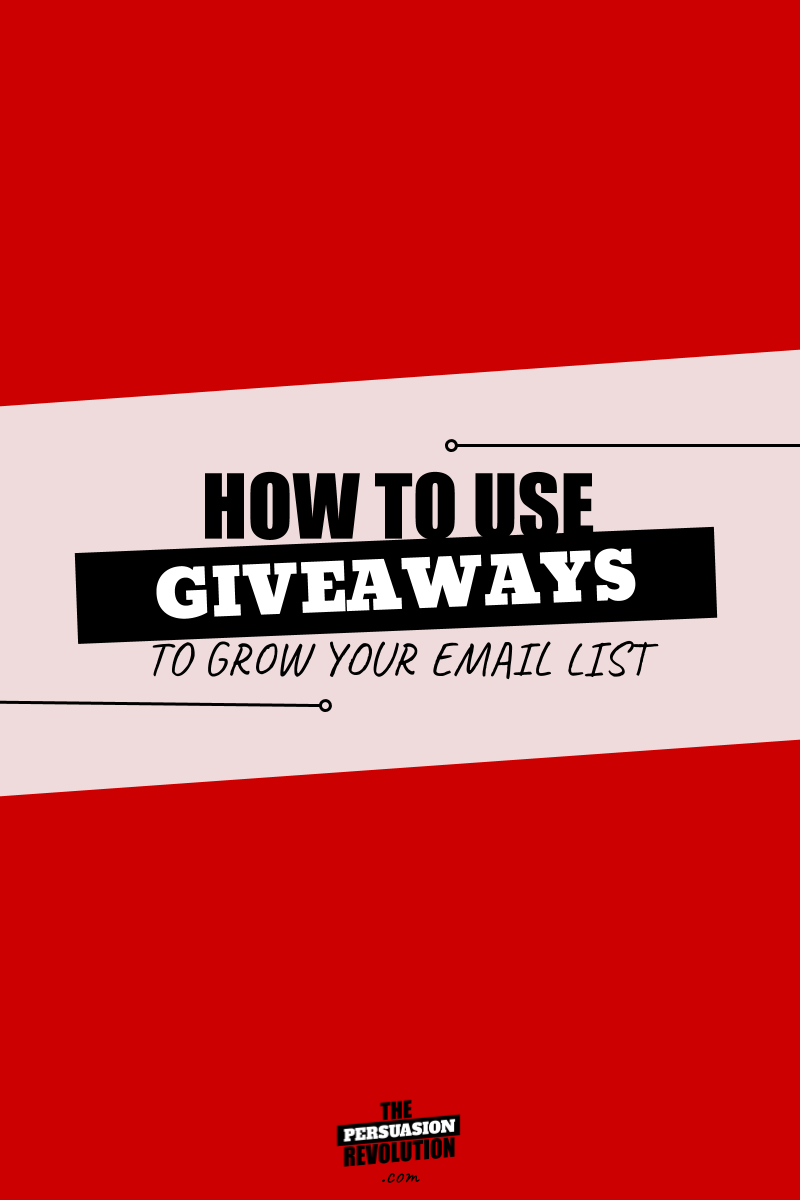 Psychology of Giveaways & How you can use giveaways to grow your list