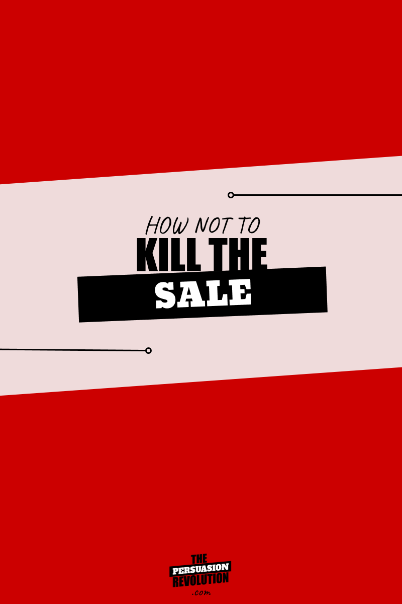 2 Human quirks that kill the sale and how to counter them #salestips #onlinebusiness #marketingtips #thepersuasionrevolution