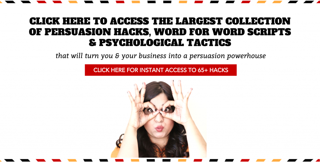 CLICK HERE TO CHECK OUT PERSUASION HACKS LAB
