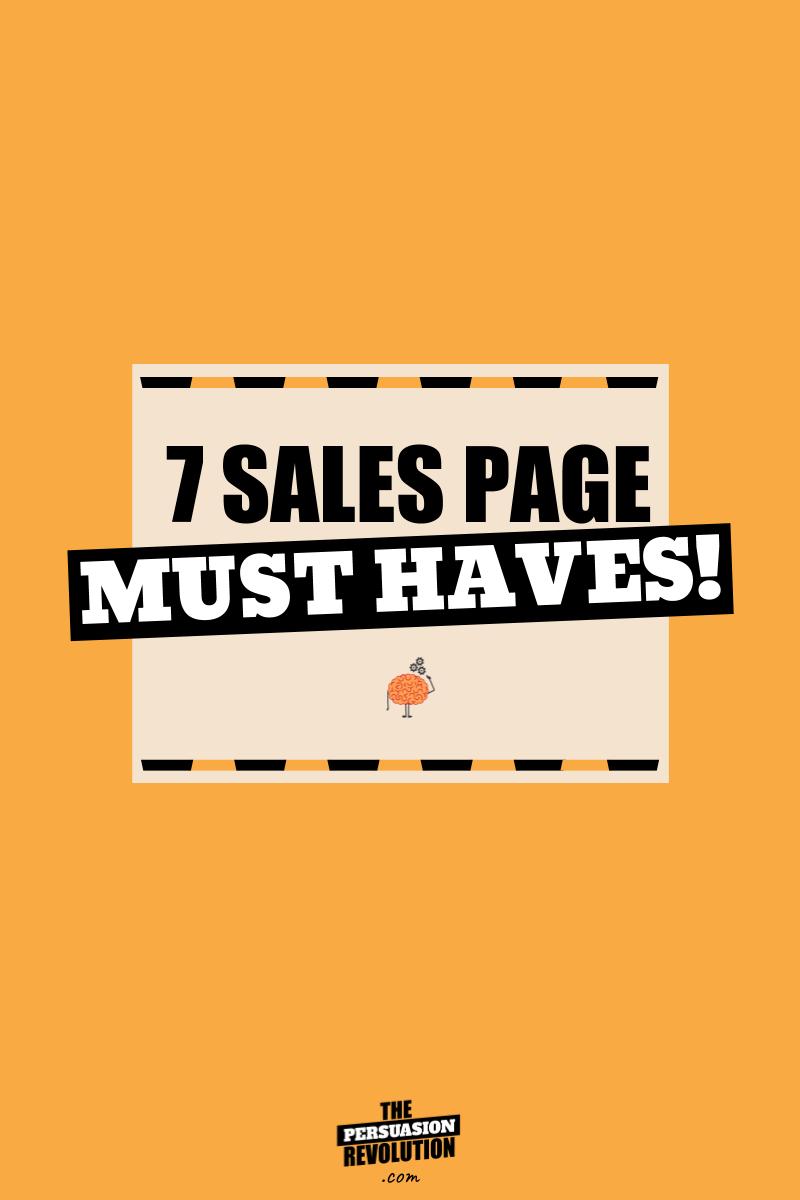 7 Sales Page Psychological Hooks