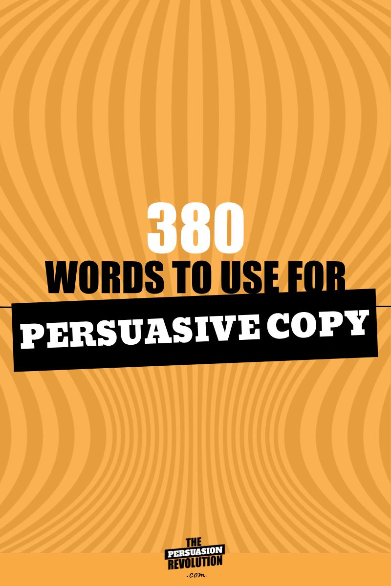 380 High emotion words guranteed to make you more persuasive