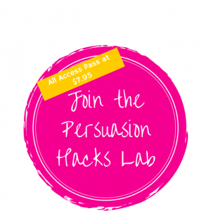 Join the Persuasion Hacks Lab