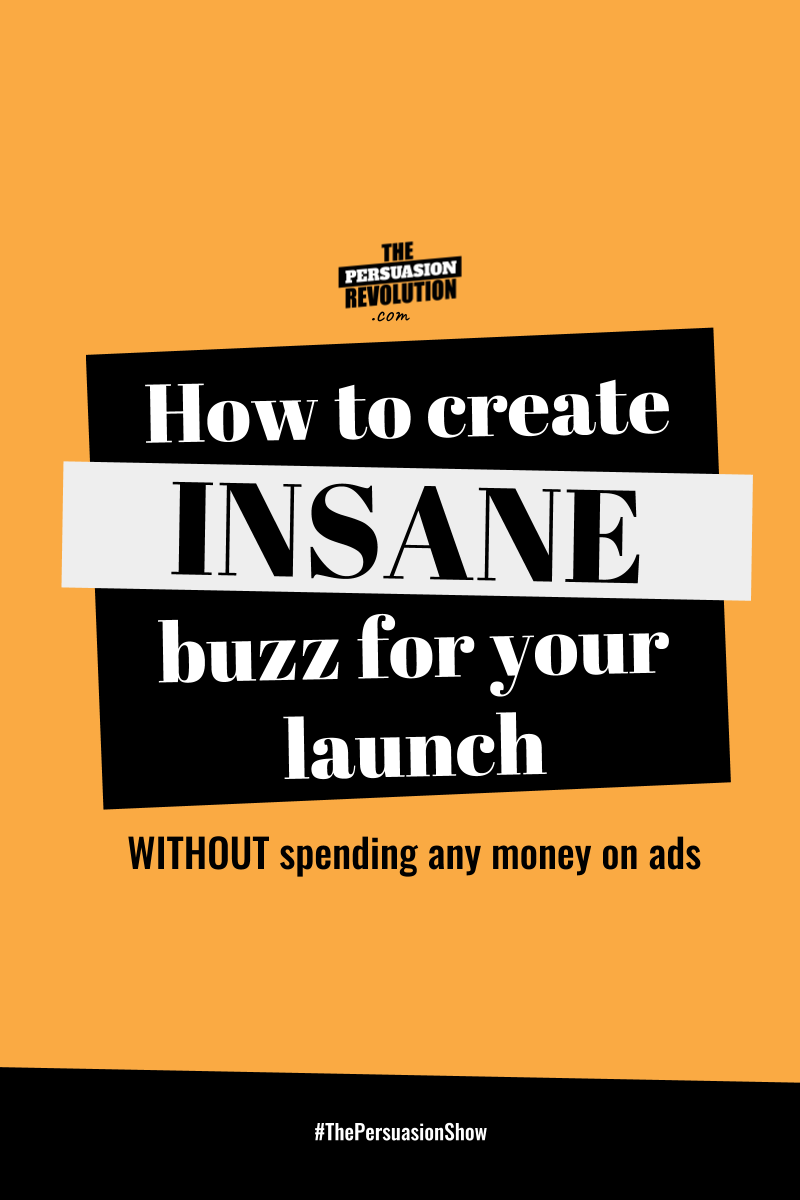 How to create insane hype and buzz around your  launch without spending any money on ads #sales #onlinebusiness #launching #entrepreneurship