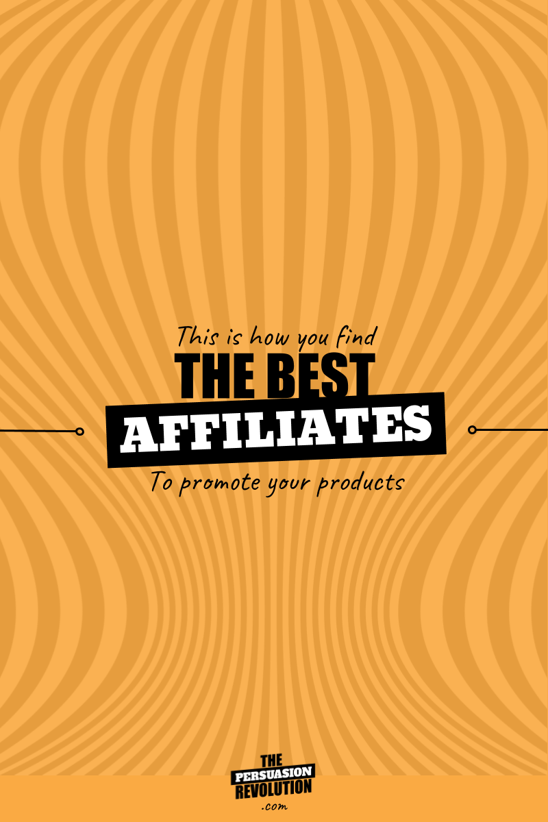 My bizarre system for finding and choosing the best jv partners and affiliates #affiliatmarketing #marketingtips #onlinebusiness #thepersuasionrevolution
